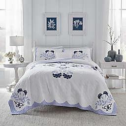Laura Ashley® Rosaleen Quilt in Skylark Blue