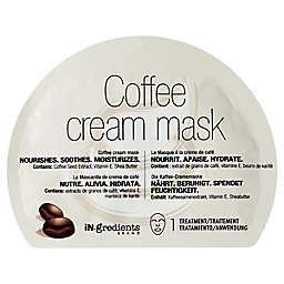 In.gredients Coffee Cream Face Mask