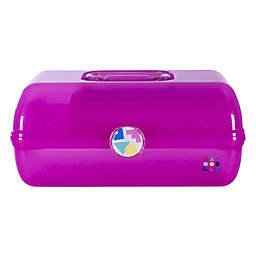 Caboodles® On-The-Go Girl™ Pop-Up Cosmetics Organizer in Pink Sparkle