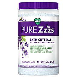 Vicks® Zzzquil™ PURE Zzzs™ Lavender Bath Crystals 15 oz.