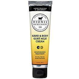 Dionis® Hand & Body Goat Milk Cream Moisturizing Treatment in Honeysuckle/Coconut