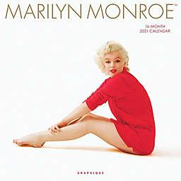 Graphique® de France Marilyn Monroe 2021 Wall Calendar