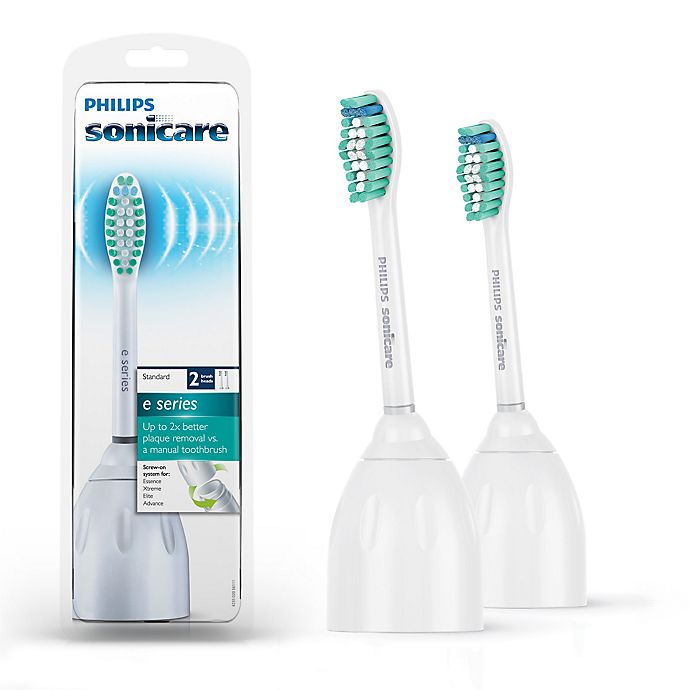 Alternate image 1 for Philips Sonicare® E-Series Replacement Brush Heads (Set of 2)