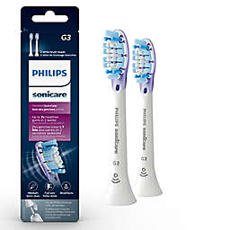 Philips Sonicare® Premium Gum Care Replacement Brush Heads in White (2-Pack)
