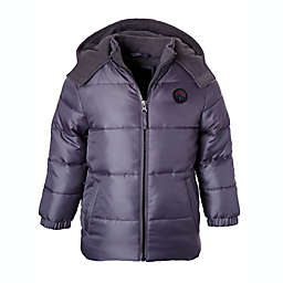 iXtreme Size 4T Heavy Hooded Puffer Jacket in Charcoal
