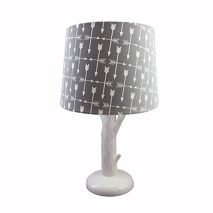 Alternate image 1 for Levtex Baby® Trail Mix Lamp in Light Blue/Cream