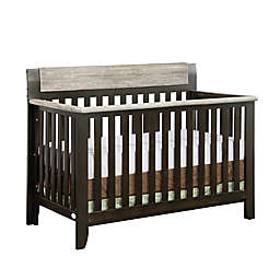 Suite Bebe Hayes 4-in-1 Convertible Crib in Coffee