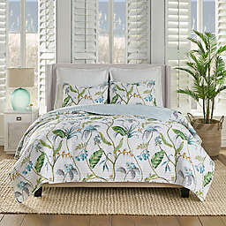Levtex Home Monsul Reversible Quilt Set in Green/Teal/Grey