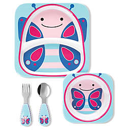 SKIP*HOP® Butterfly Zoo Mealtime Gift Set