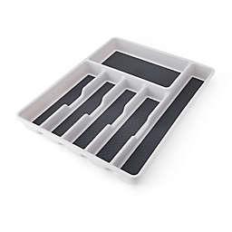 Simply Essential™ Large Cutlery Tray in Light Grey/Dark Grey