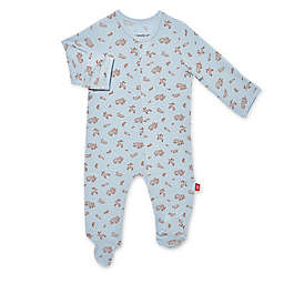 Magnetic Me® by Magnificent Baby Jasper Magnetic Footie in Blue