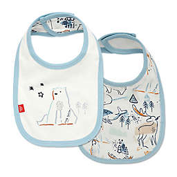 Magnetic Me® by Magnificent Baby Northern Lights Reversible Bib in Blue