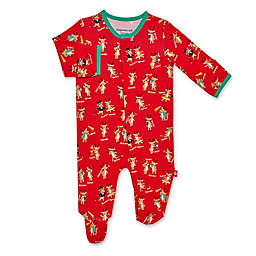 Magnetic Me® by Magnificient Baby Holiday Reindeer Footie