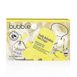 Bubble Tea Cosmetics 4.2 oz. Bath Infusion Tea Bags in Lemongrass & Green Tea (Set of 3)