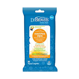 Dr. Brown's® 30-Pack Nose and Face Wipes