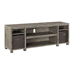 Ameriwood Home Zara Park TV Stand with 2 Storage Bins
