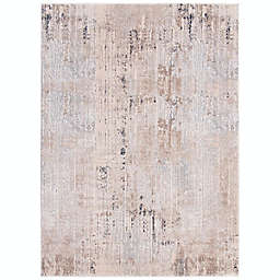 ECARPETGALLERY Ethan 6'7 x 9'6 Area Rug in Taupe