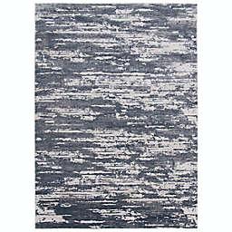 ECARPETGALLERY Ezra 5'3 x 7'3 Area Rug in Grey