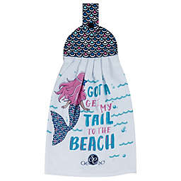 Kay Dee Designs Southern Couture Mermaid Tie Kitchen Towel