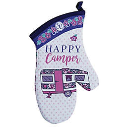"""Kay Dee Designs Southern Couture """"Happy Camper"""" Oven Mitt"""