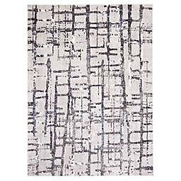 ECARPETGALLERY Anitra 6'7 x 9'6 Area Rug in Grey
