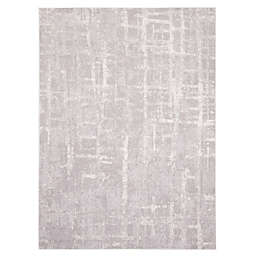 ECARPETGALLERY Anitra 7'10 x 10'2 Area Rug in Light Grey
