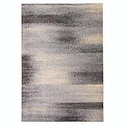 ECARPETGALLERY Priti 3'11 x 5'7 Area Rug in Grey