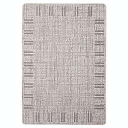 ECARPETGALLERY Solea 4'4 x 6'5 Indoor/Outdoor Rug in Grey