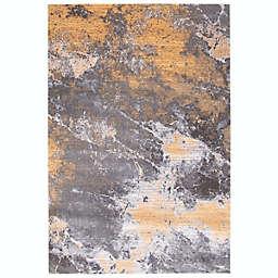ECARPETGALLERY Sandstone Area Rug in Grey