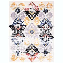 ECARPETGALLERY Morocco Kashkuli 8' x 10' Area Rug in White