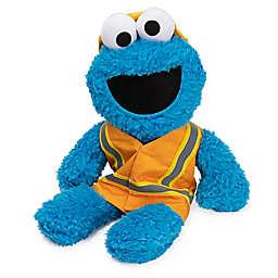 GUND® Sesame Street Construction Cookie Monster Plush Toy