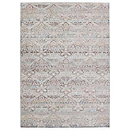 Jaipur Living Edlynne Damask 6'7 x 9'6 Area Rug in Light Grey/Blue