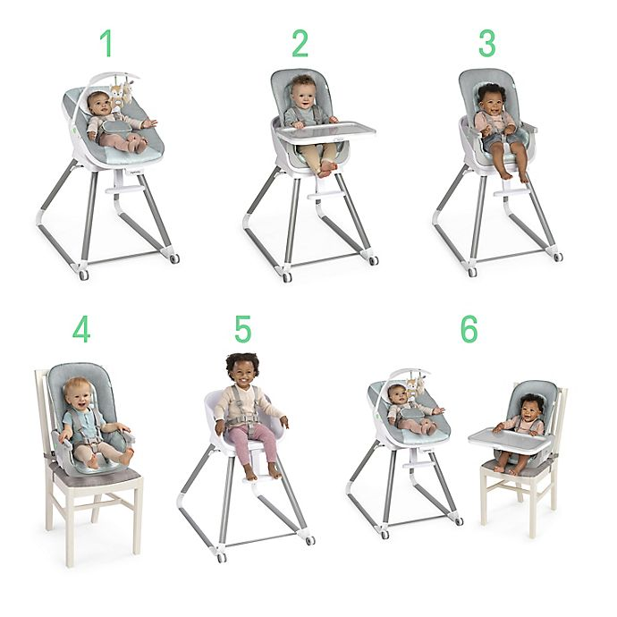 Alternate image 1 for Ingenuity™ BeanstalkBaby to Big Kid 6-in-1High Chairin Ray