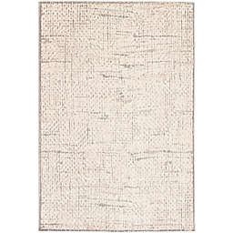 ECARPETGALLERY Expression 7'6 x 10'1 Area Rug in Grey/Ivory