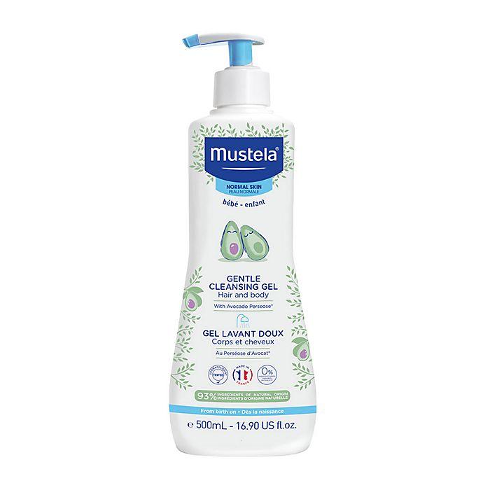 Alternate image 1 for Mustela® 16.9 oz. Gentle Cleansing Gel for Normal Skin