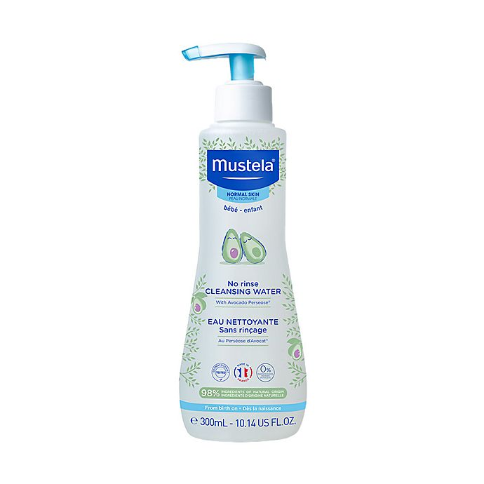 Alternate image 1 for Mustela® 10.1 oz. No-Rinse Cleansing Water for Face and Diaper Area