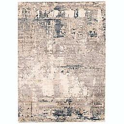 ECARPETGALLERY Oregon Abstract 3'11 x 5'11 Area Rug in Grey/Ivory
