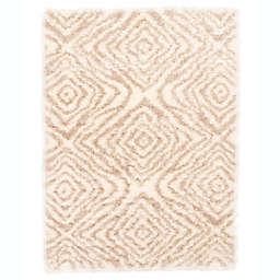 ECARPETGALLERY Agadir Abstract Shag Rug