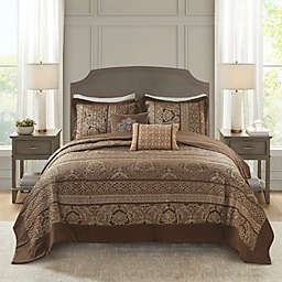 Madison Park Bellagio Jacquard Bedspread Set