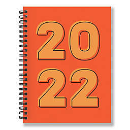 TF Publishing 2022 Weekly Monthly Planner in Orange