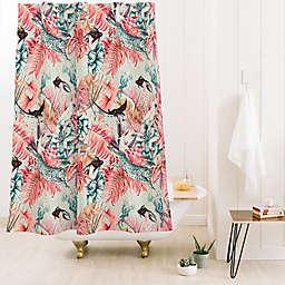 Deny Designs 74-Inch x 71-Inch Marta Barragan Camarasa Tropical Shower Curtain