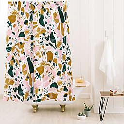 Deny Designs Marta Barragan Camarasa Boho 71-Inch x 74-Inch Shower Curtain