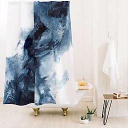 Deny Designs Kris Kivu Indigo Depths No. 1 Shower Curtain