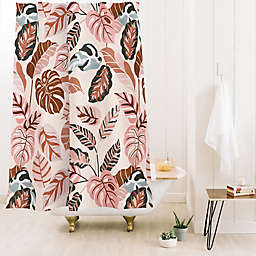 Deny Designs Marta Barragan Camarasa Jungle 71-Inch x 74-Inch Shower Curtain