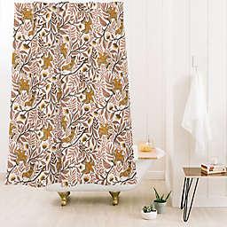 Deny Designs Avenie Secret Garden Petals VIII 71-Inch x 74-Inch Shower Curtain