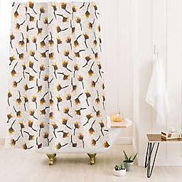 Deny Designs Avenie Secret Garden Pastel Standard Shower Curtain