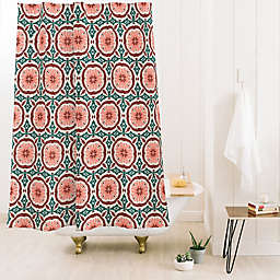 Deny Designs 74-Inch x 71-Inch Holli Zollinger Madeira Shower Curtain in Pink