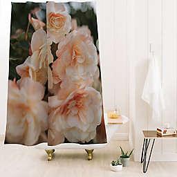 Deny Designs Hello Twiggs Soft Flowers 71-Inch x 74-Inch Shower Curtain