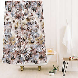 Deny Designs Ninola Design Japandi 71-Inch x 74-Inch Shower Curtain