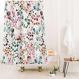 Deny Designs Ninola Meadow Cooper Standard Shower Curtain